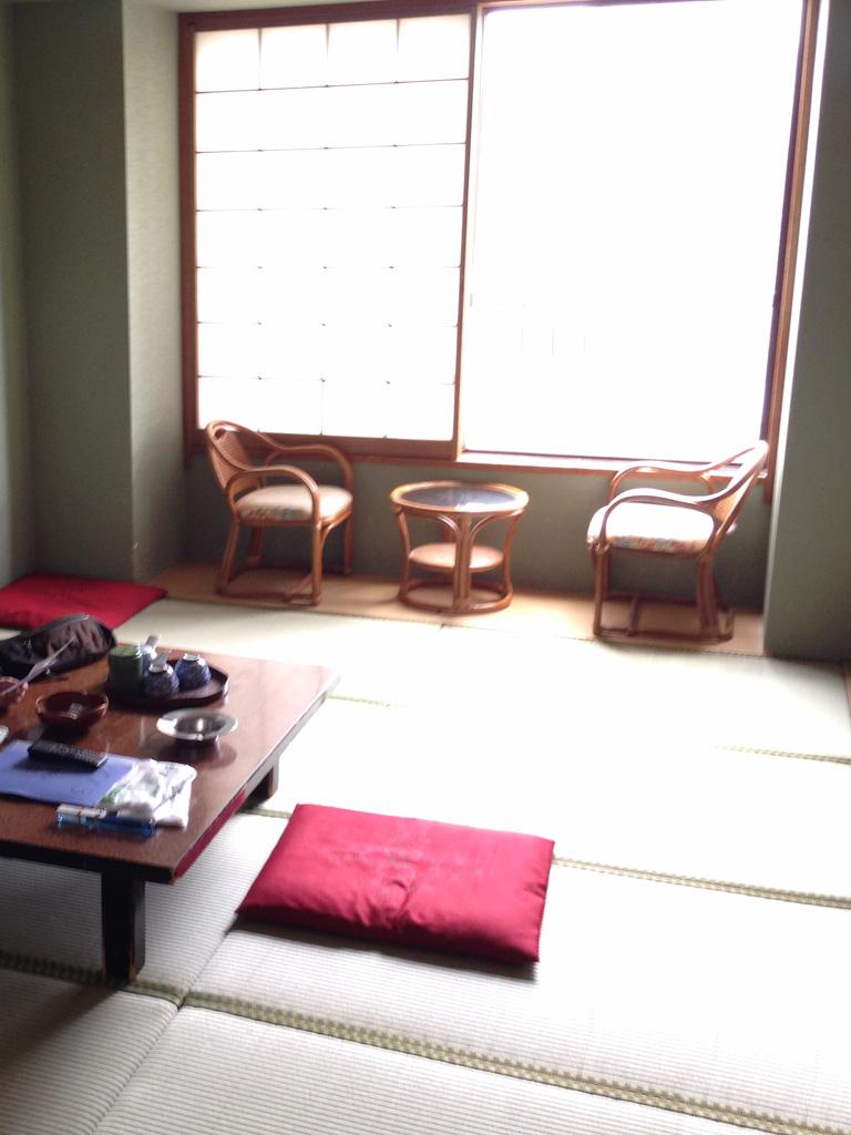 ホテルおおるりの客室