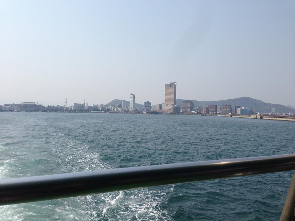 女木島へ出発