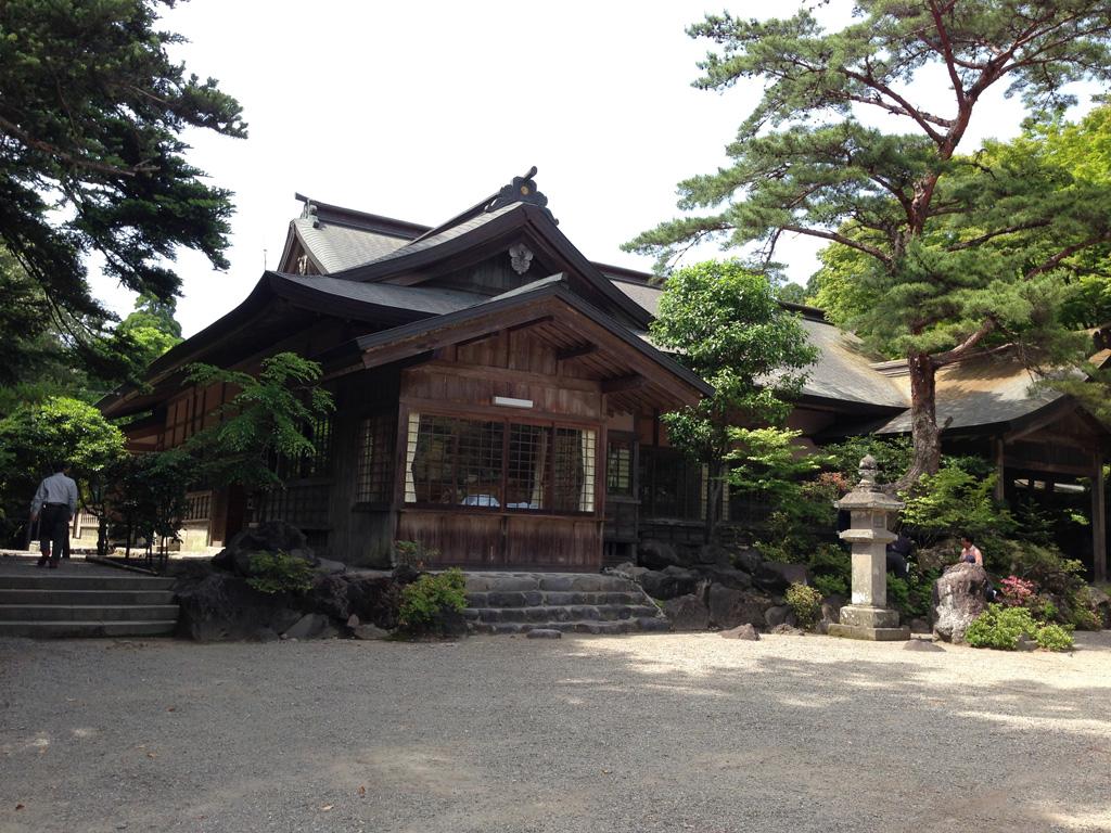 霧島神宮の社務所