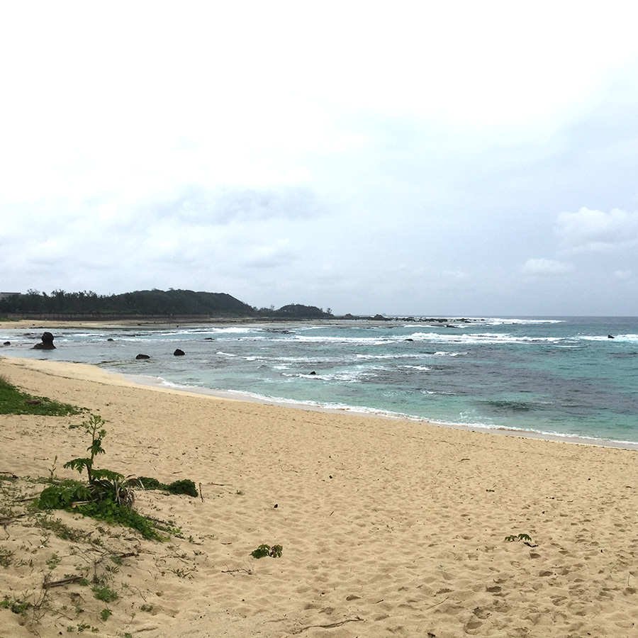つちもりビーチ